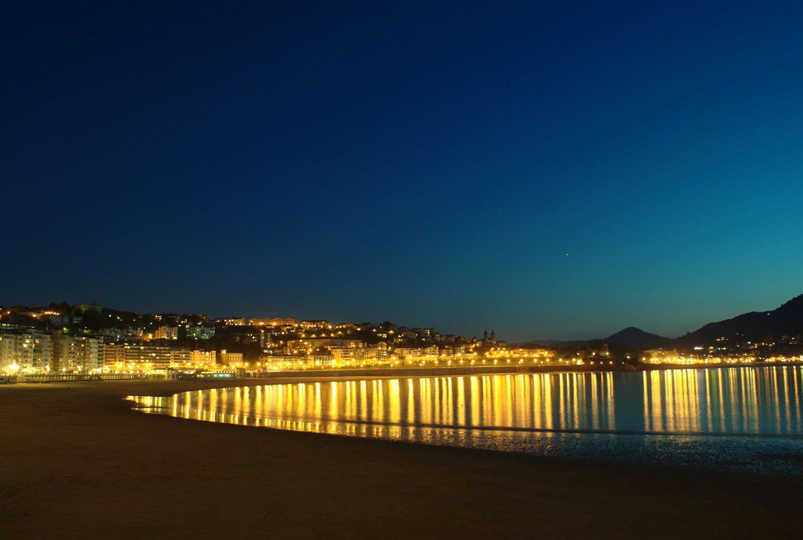San Sebastian evening