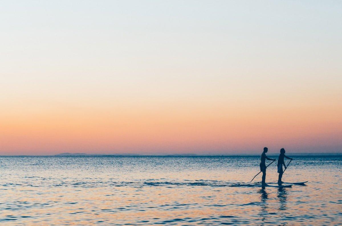 San Sebastian Sun Rise paddle board tour