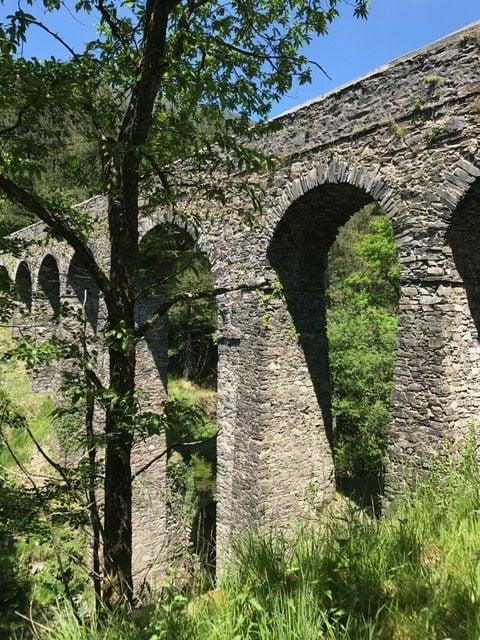 Roman bridge bike tour