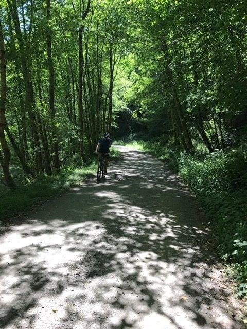bike ride woods