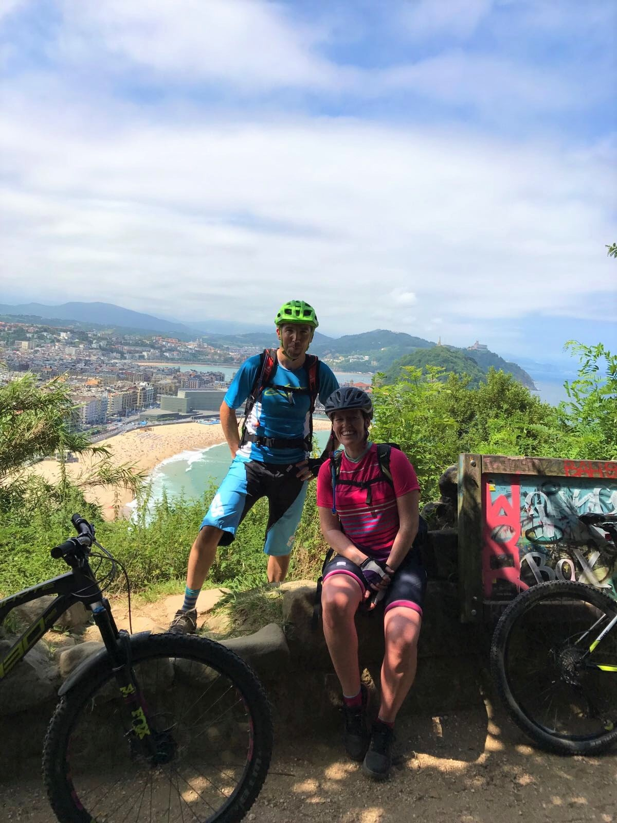 San Sebastian mountian bike trails