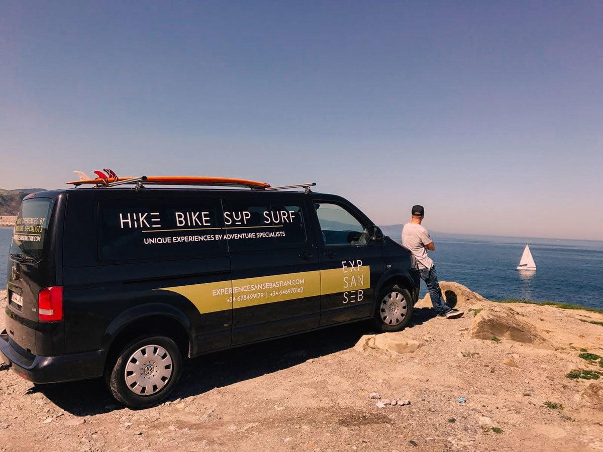 San Sebastian surf tours