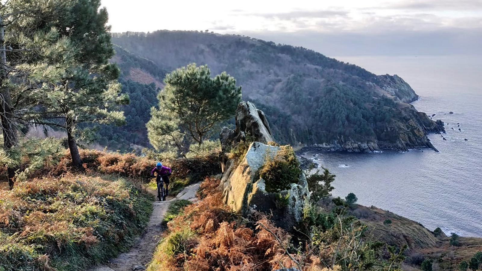Mountain bike tour San Sebastian