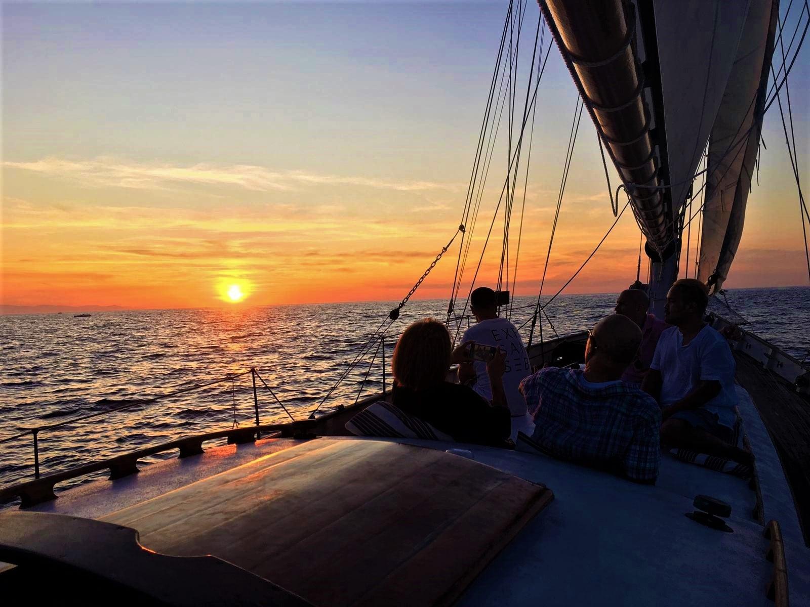 Sunset Sail San Sebastian